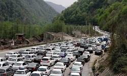 ترافیک نیمه سنگین در محور هراز و آزادراه ساوه-تهران/اعمال محدودیت ترافیکی در جاده های شمال