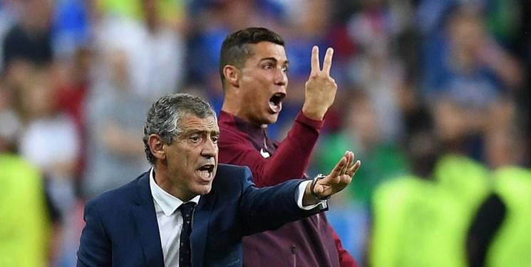 سانتوس: پرتغال نمایشی دلپذیر داشت/رونالدو شاید برابر سوئد بازی کند
