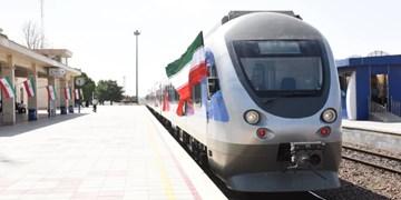 خط دوم قطار کرج-قزوین به بهره برداری رسید