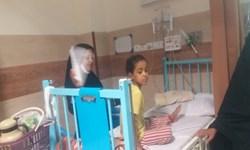 مشکلات سرمایشی بیمارستان ریگان در تب گرما و صدای مردم+فیلم