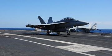 سقوط جنگنده «اف-18» ناو هواپیمابر «تئودور روزولت» آمریکا