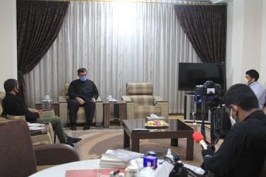عکس| نشست خبری اختصاصی فارس با فرمانده نیروی دریایی سپاه