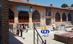 حال و هوای مسجد جامع ساری بعد از آتشسوزی سال ۹۷