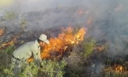 خسارت به  15 هکتار از اراضی  منطقه حفاظتشده هفتاد قله اراک براثر آتشسوزی/آتش مهار شد