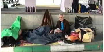 آخرین وضعیت پیرمرد بیپناه تبریزی