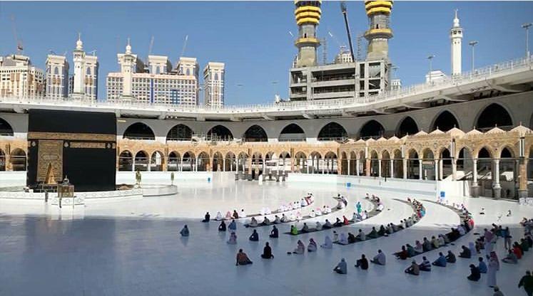 13990401000385 Test NewPhotoFree - برپایی نماز آیات در مسجدالحرام و مسجدالنبی (ص) +عکس