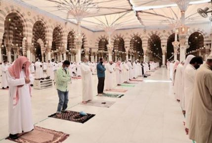 13990401000394 Test NewPhotoFree - برپایی نماز آیات در مسجدالحرام و مسجدالنبی (ص) +عکس