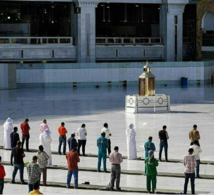 13990401000398 Test NewPhotoFree - برپایی نماز آیات در مسجدالحرام و مسجدالنبی (ص) +عکس