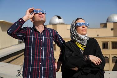 آخرین خورشیدگرفتگی قرن در تهران