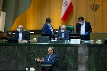 سخنرانی دکتر کاظم خاوازی وزیر جهادکشاورزی در جلسه علنی مجلس / ۱ تیر ۹۹