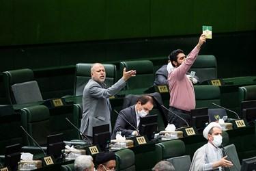 اخطار آئین نامه ای در جلسه علنی مجلس / ۱ تیر ۹۹
