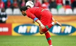 فیلم/سالروز گل جالب رونالدو در تیم ملی پرتغال