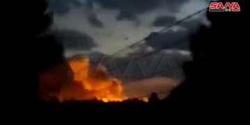 انفجار انبار تسلیحات نیروهای دموکراتیک سوریه در الحسکه