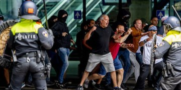 کرونا | بازداشت ۴۰۰ نفر در تظاهرات ضد قرنطینهای در هلند