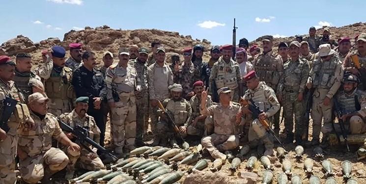 ارتش عراق چند مخفیگاه داعش نزدیک مرز با عربستان را منهدم کرد