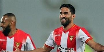 لیگ فوتبال پرتغال|مهرداد محمدی در ترکیب آوس مقابل براگا