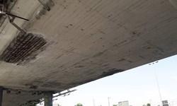 مرمت پل تقاطع بزرگراه شهید فهمیده با خیابان کوهک