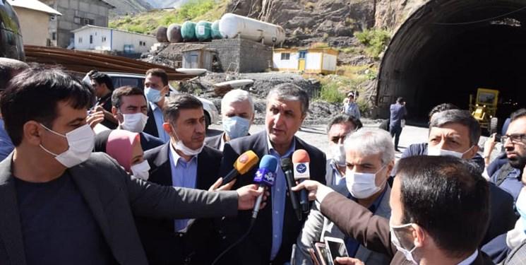 قطعه دوم آزادراه تهران - شمال بهار 1400 زیر بار ترافیک می رود