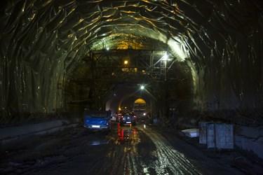 بلندترین تونل خاورمیانه در منطقه 2 آزادراه تهران ـ شمال