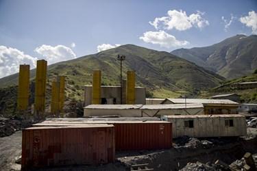 کارگاه احداث منطقه 2 آزادراه تهران ـ شمال
