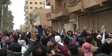 اعتراضات مردمی در مناطق تحت اشغال ترکیه در سوریه