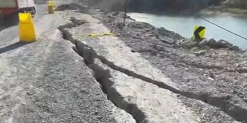 فیلم| سریال تکراری ریزش کوه در جاده لواسان بزرگ