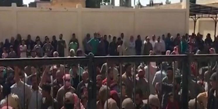 ساکنان  شمال شرق سوریه علیه حضور ترکیه و مزدورانش تظاهرات کردند
