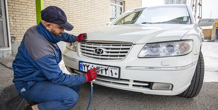 افزایش ساعات کار مراکز تعویض پلاک در کرمانشاه