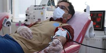 مواسات همچنان ادامه دارد؛ اینبار با اهدای خون