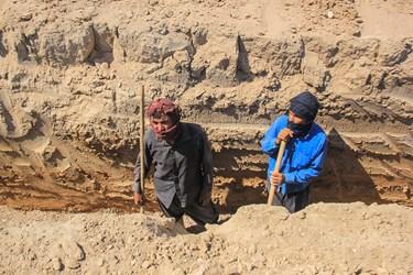 بازدید از فاز دوم پروژه آبرسانی به روستاهای بخش غیزانیه