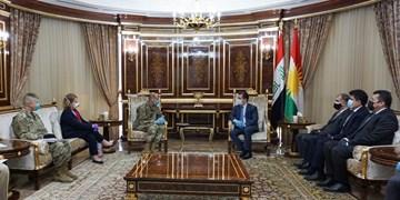 دیدار هیأت بلندپایه آمریکایی با رئیس دولت منطقه کردستان عراق