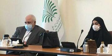 نشست ستاد پیگیری شهادت سردار سلیمانی با حضور ظریف و دختر سردار در وزارت خارجه