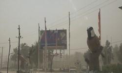 فیلم| جولان طوفان شن در «فهرج» کرمان