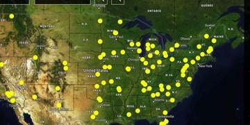 عفو بینالملل از خشونتهای «فاحش» پلیس آمریکا نقشه تهیه کرد