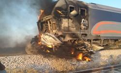 برخورد قطار و خودرو در شوش 3 کشته بر جا گذاشت
