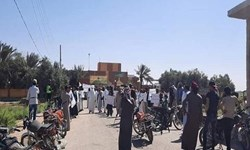 تظاهرات در سوریه علیه شبه نظامیان کُرد تحت حمایت آمریکا