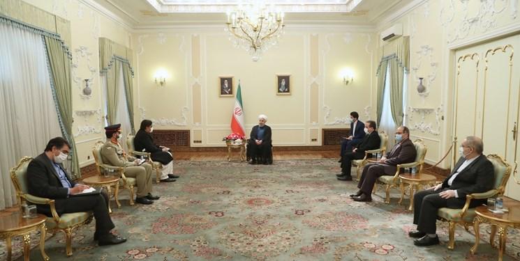 تأکید رئیسجمهور بر ضرورت بازگشایی مرزها و اجرایی شدن توافقات ایران و پاکستان