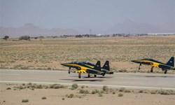رونمایی از ۳ فروند جنگنده تمام ایرانی «کوثر» در اصفهان/ تأکید وزیر دفاع بر صادرات تجهیزات نظامی