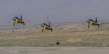 فیلم| پرواز سه فروندی جنگندههای کوثر در مراسم تحویلدهی