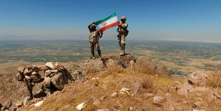 رزمایش اقتدار شهدای کرد مسلمان