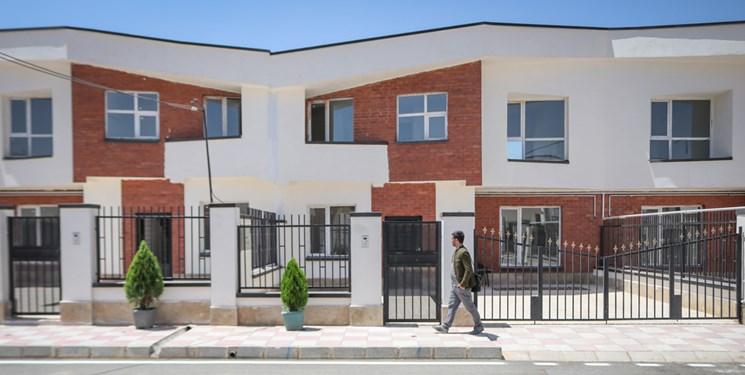 عکس | آیین افتتاح پروژه 174 واحدی مسکن ایثارگران