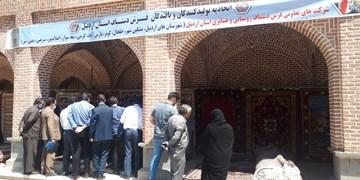 افتتاح نمایشگاه فرش و تابلو دستباف در مشگینشهر