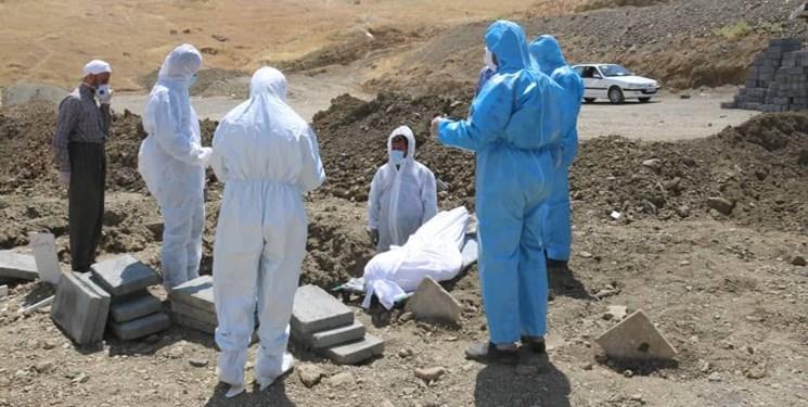 استمرار فوتیهای ناشی از کرونا در کردستان/فوت 2 بیمار دیگرکرونایی در استان