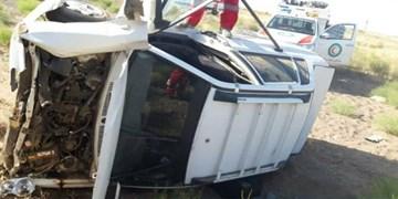 ۵۷ نقطه حادثهخیز سمنان باعث واژگونی و تصادف میشود