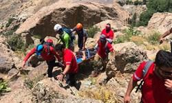 نجات سه کوهنورد در تهران