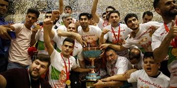 گزارش تصویری فینال دیدار مسسونگون - گیتیپسند اصفهان+ حواشی