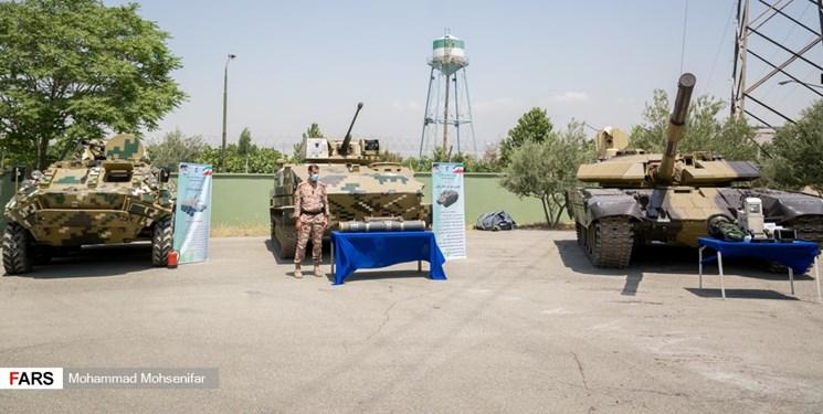 رونمایی از چند دستاورد دفاعی سپاه/ از نفربر آبی ـ خاکی مکران تا تیربار ثعبان+عکس