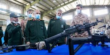 بازدید سرلشکر سلامی از نمایشگاه دستاوردهای نیروی زمینی سپاه