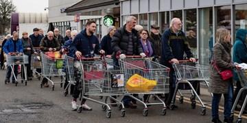 گاردین خبر داد: ناتوانی 7.7 میلیون بریتانیایی در تأمین مواد غذایی طی هفتههای اول قرنطینه