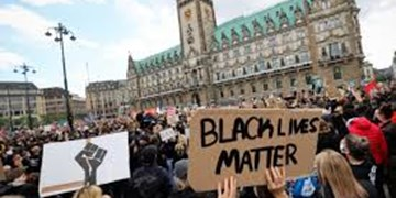 تظاهرات ضد نژادپرستی در برلین